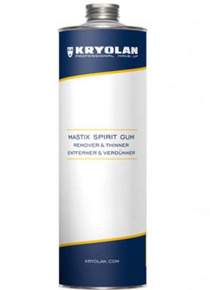 Kryolan Spirit Gum Mastix Remover and Thinner 1000ml