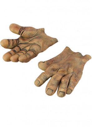 Giant Brown Hands - Gloves