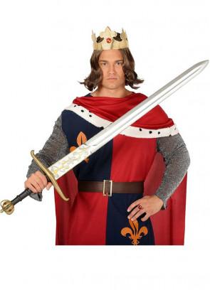 Medieval Silver Longsword 120cm