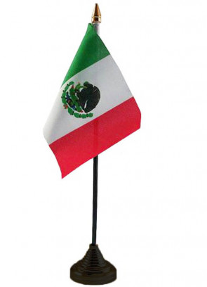 Mexico Table Flag