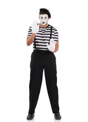 Mime Artist – Mens Costume