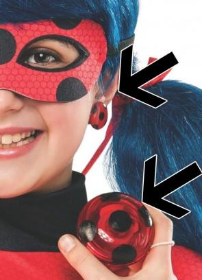 Miraculous Ladybug Yoyo & Earrings
