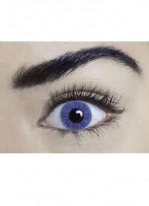 Misty Blue Coloured Contact Lenses - One Day Wear