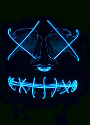 Anarchy Light-Up LED Mask