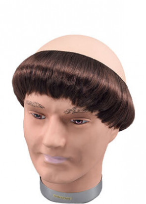 Monks Wig - Brown