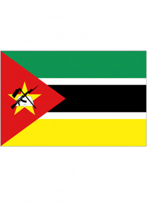 Mozambique Flag 5x3
