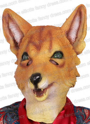 Fox Rubber Mask (Mr Fox)