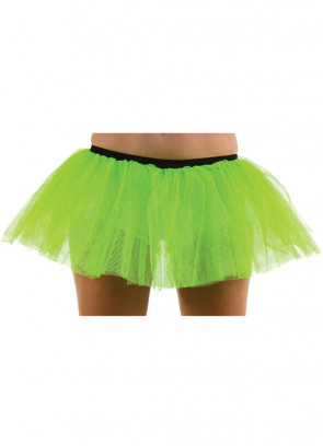 Neon Green Tutu - 3 Layer