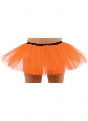 Neon Orange Tutu - 3 Layer