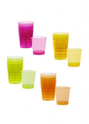 Neon Party Shot Glasses Multipack – 20pk