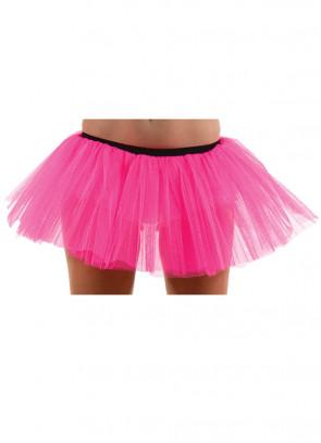 Neon Pink Tutu - Dress Size 6-12
