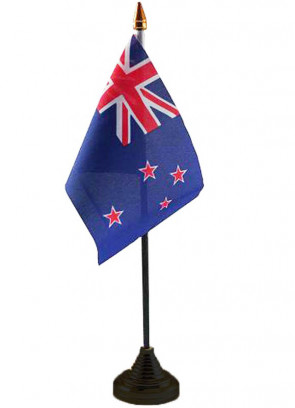 """New Zealand Table Flag 6"""" x 4"""""""