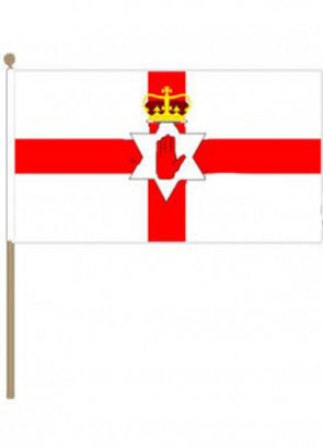 Red Hand Of Ulster (Northern Ireland) Hand Flag