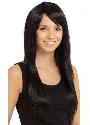 Black Olivia Wig - Styleable