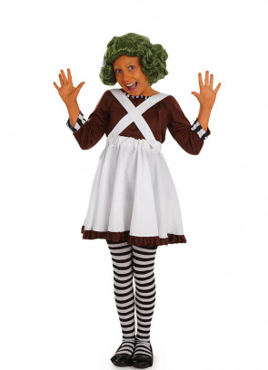 Factory Worker (Girls) Costume