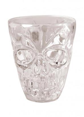 Opaque Skull Shot Glasses 4pk