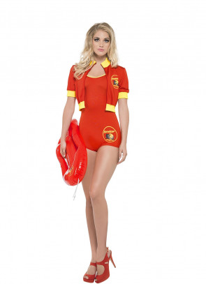 Baywatch Lifeguard (Pamela) Costume