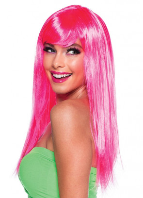 Passion Wig - Neon Pink