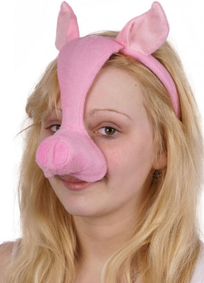Pig Mask with Sound