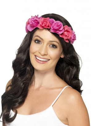 Floral Headband – Pink