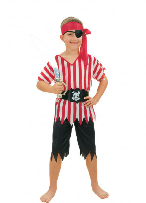 Pirate Boy (Striped Top) Costume