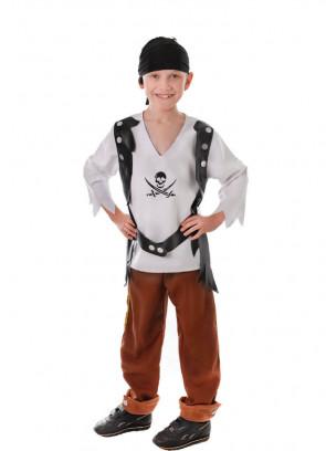 Pirate Boy (Tan Trousers) Costume