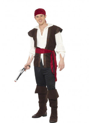 Swashbuckling Pirate Costume