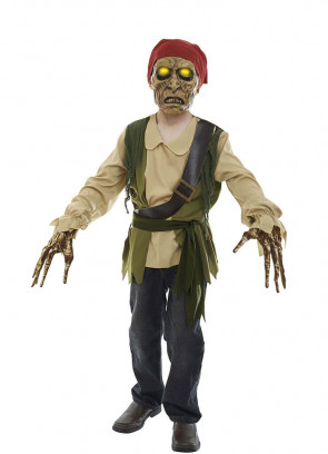 Xtreme Pirate of the Dead Seas Costume