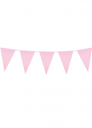 Light Pink (10m) Bunting