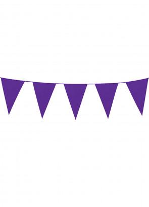 Purple (10m) Bunting