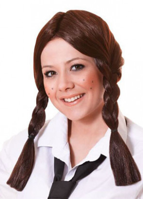 Plait Wig Brown