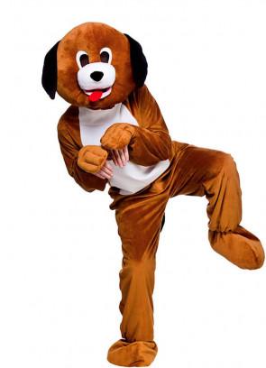 Playful Puppy Mascot