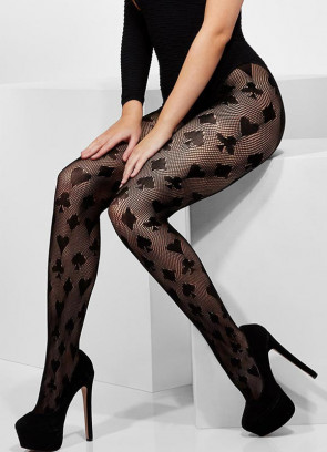 Playing Card Crochet Tights - Dress Size 6-14