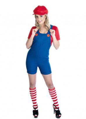 Mario (Plumber's Mate) (Ladies) Costume
