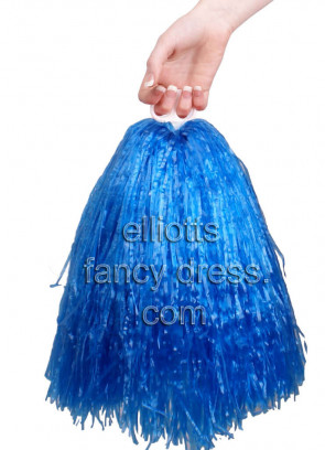 USA Cheerleader Pom Pom 2pcs (Blue)