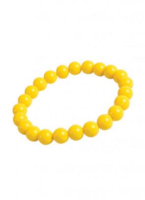 Pop Art Pearl Bracelet - Yellow