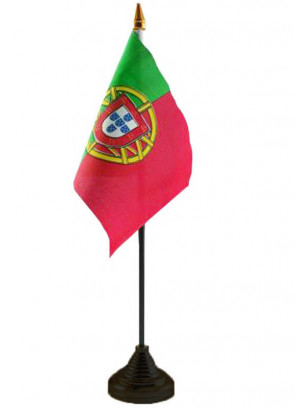 Portugal Table Flag