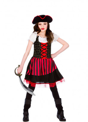 Pretty Pirate Girl Costume