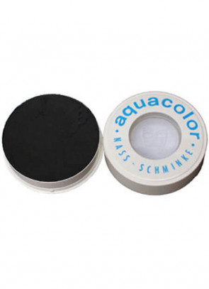 Kryolan Professional Stage Makeup Aquacolor Black Face Paint