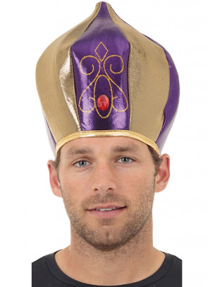 Sultan Purple & Gold Turban