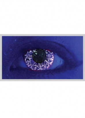 Violet Kiss Glitter UV Contact Lenses - 30 Day Wear