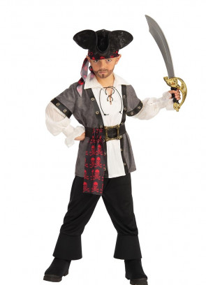 Pirate Boy - Red Skull