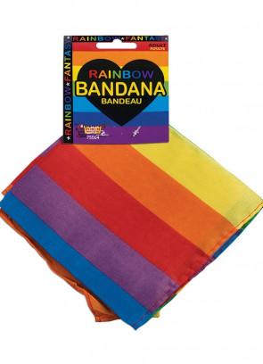 Pride Rainbow Bandana 55cm