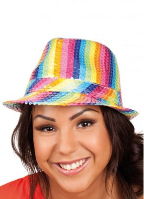 Rainbow Fedora Hat (Pride)