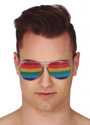 Rainbow Pride / Hippie Glasses
