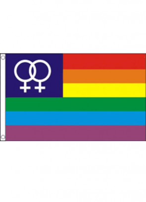 Rainbow Venus (Ladies) Pride Flag 5x3