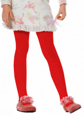Tights (Red) (Kids)