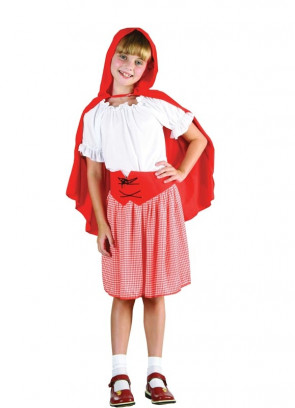 Red Riding-Hood (Girls) Costume