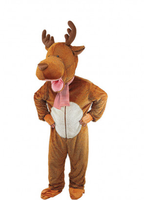 Kids Reindeer Mascot