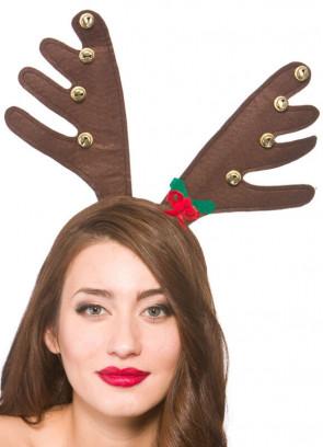 Reindeer Antlers - Bells